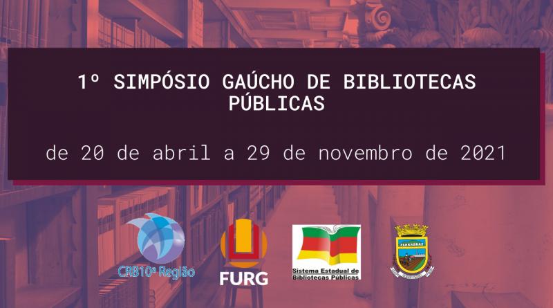 1º Simpósio Gaúcho de Bibliotecas Públicas